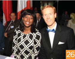 Dr. Ivan Sascha Sheehan and Dr. Kerunne Ketlogetswe