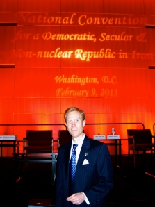 Dr. Ivan Sascha Sheehan Iran Convention