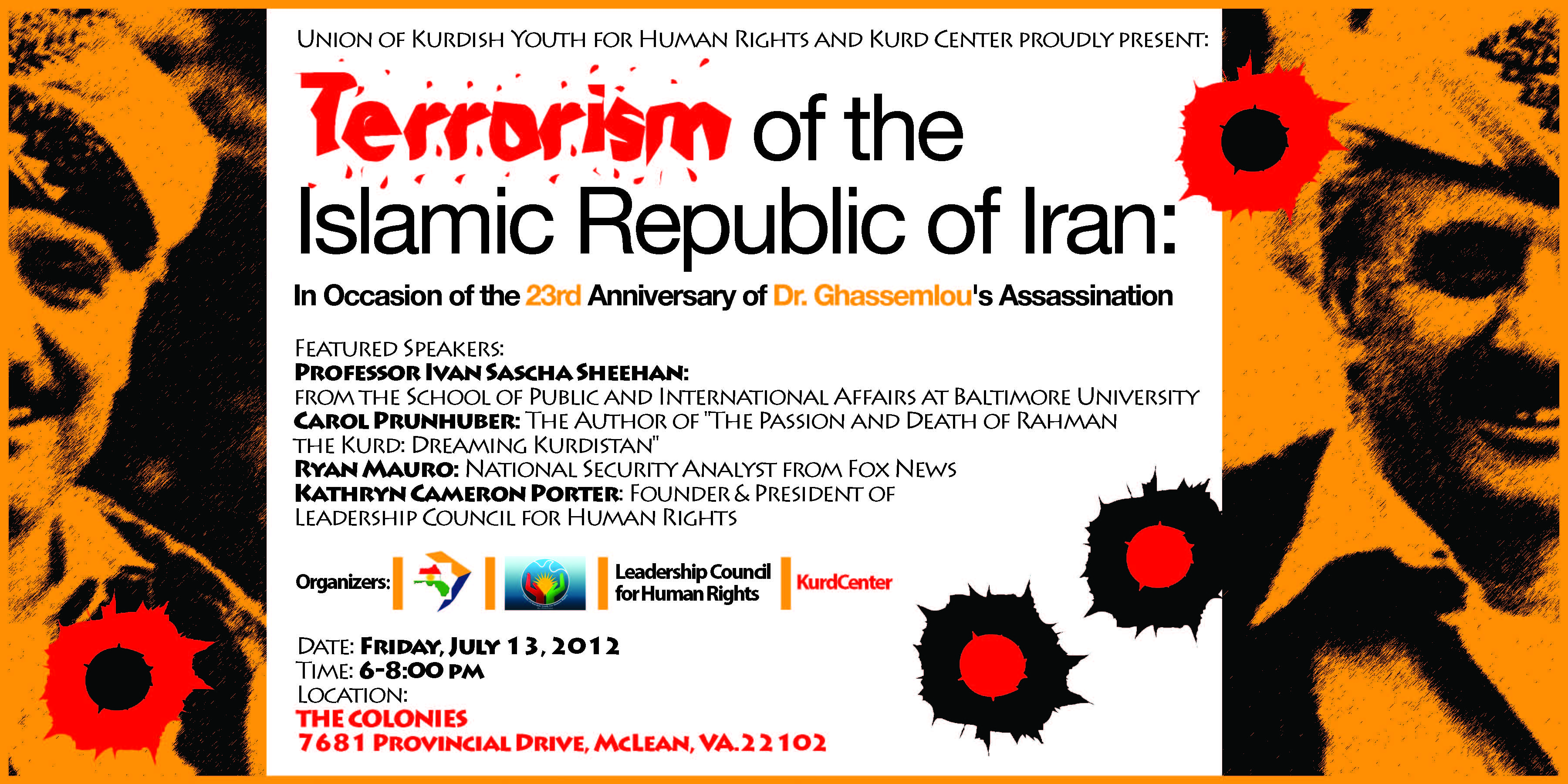 Sheehan Speaks on Iran's State Sponsored Terrorism & Human Rights Abuses in Washington, D.C ...