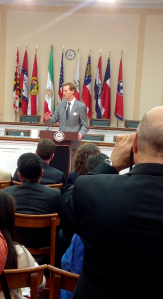 Dr. Ivan Sascha Sheehan Discussing U.S.-Iran Policy at the Rayburn House Office Building