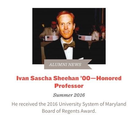 Dr. Ivan Sascha Sheehan - Swarthmore College Bulletin 2